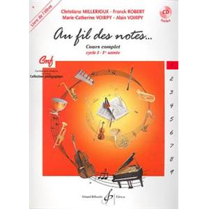 COLLECTIF - AU FIL DES NOTES VOL.1 ELEVE + CD