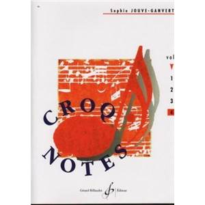 JOUVE GANVERT SOPHIE - CROQ'NOTES VOL.4