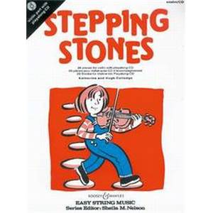 COLLEDGE KATHERINE ET HUGH - STEPPING STONES VIOLON + CD