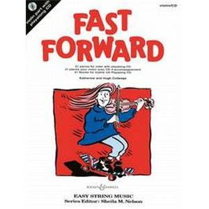 COLLEDGE KATHERINE ET HUGH - FAST FORWARD VIOLON + CD