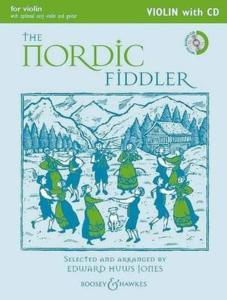 HUWS JONES EDWARD - THE NORDIC FIDDLER +CD -  VIOLON ET PIANO