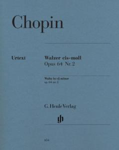 CHOPIN FREDERIC - VALSE OP.64/2 EN DO# MINEUR - PIANO