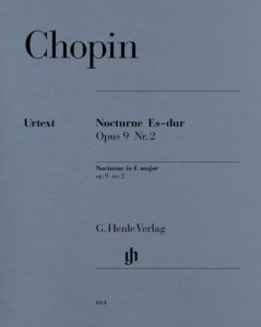 CHOPIN FREDERIC - NOCTURNE OP.9/2 MIB MAJEUR - PIANO