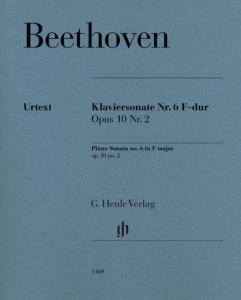 BEETHOVEN - SONATE No6 OP.10/2 EN FA MAJEUR - PIANO