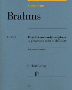 BRAHMS JOHANNES - AT THE PIANO (15 PIECES ORIGINALES) - PIANO