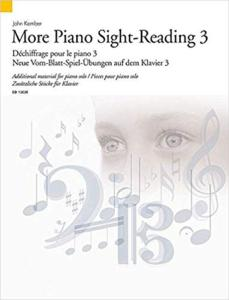 KEMBER JOHN - MORE SIGHT-READING (DECHIFFRAGE) VOL.3 - PIANO