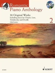 ROMANTIC PIANO ANTHOLOGY VOL.2 +CD - PIANO