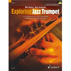 WESTON OLLIE - EXPLORING JAZZ TRUMPET + CD TROMPETTE