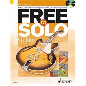 HUGUES / HARVEY - FREE TO SOLO GUITARE + CD