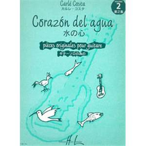 COSTA CARLE - CORAZON DEL AGUA VOL.2 - GUITARE