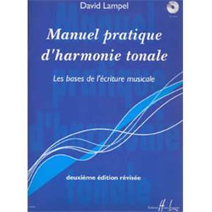 LAMPEL DAVID - MANUEL PRATIQUE D'HARMONIE TONALE + CD