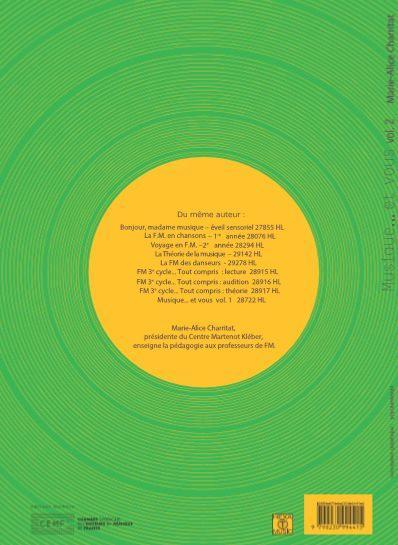 Marie- Alice Charritat: Musique.. Partitions CD Et Vous