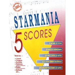 BERGER M. / PLAMONDON L. - STARMANIA 5 SCORES