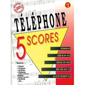 TELEPHONE - 5 SCORES VOL.2