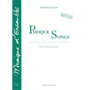 IWAGAMI TAKASHI - PHOQUE SONGS - 2 A 3 GUITARES (MATERIEL)