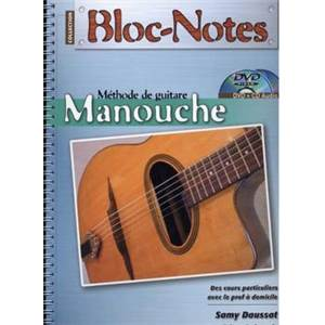 DAUSSAT SAMY / REINHARDT DAVID - BLOC NOTES GUITARE MANOUCHE DVD + CD