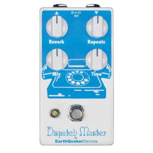 PEDALE EFFETS EARTH QUAKER DEVICES DISPATCH MASTER V2 DELAY & REVERB