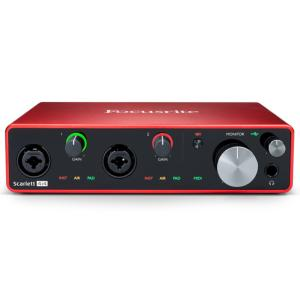 INTERFACE AUDIO FOCUSRITE SCARLETT 3 4i4