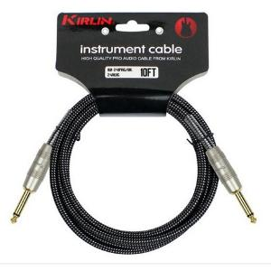 CABLE GUITARE  KIRLIN 6M IW-241BK