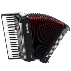 ACCORDEON PIANO HOHNER BRAVO III 96 BASSES NOIR