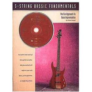 EMMEL BRIAN - 5 STRING BASSIC FUNDAMENTALS BASS TAB. + CD