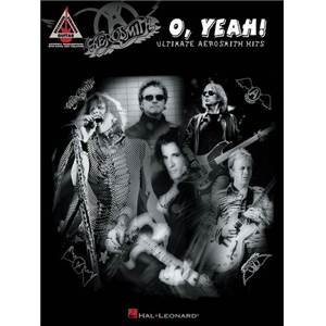 AEROSMITH - O YEAH ULTIMATE HITS GUIT. TAB.