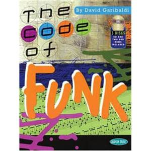 GARIBALDI DAVID - CODE OF FUNK FOR DRUMS + CD + DVD