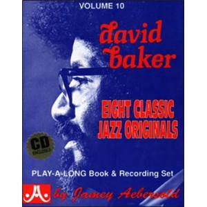 BAKER DAVID - AEBERSOLD 010 8 CLASSICS JAZZ ORIGINAL + CD
