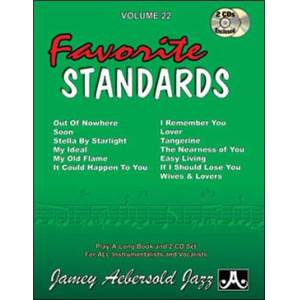COMPILATION - AEBERSOLD 022 FAVOURITE STANDARDS +2CD