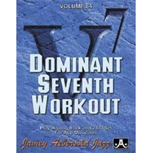 AEBERSOLD JAMEY - VOL. 084 DOMINANT 7TH + 2CD