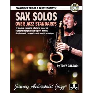 DAGRADI TONY - SAX SOLOS OVER JAZZ STANDARDS + CD