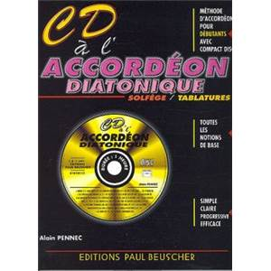 PENNEC ALAIN - CD A L'ACCORDEON DIATONIQUE + CD