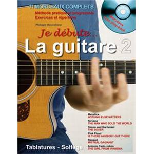 HEUVELINNE PHILIPPE - JE DEBUTE LA GUITARE VOL.2 + CD