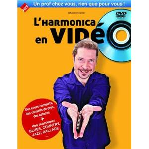 CHARLIER S. / ROSINSKI - L'HARMONICA EN VIDEO METHODE + DVD