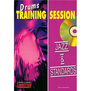 AGULHON FRANCK - JAZZ ET STANDARDS DRUMS TRAINING SESSION + CD