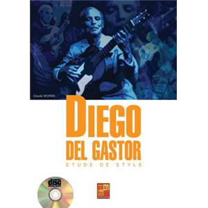 WORMS CLAUDE - DIEGO DEL GASTOR ETUDES DE STYLE + CD