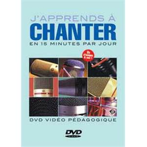 LAIGLE FABRICE - DVD J'APPRENDS A CHANTER EN 15 MINUTES PAR JOURS