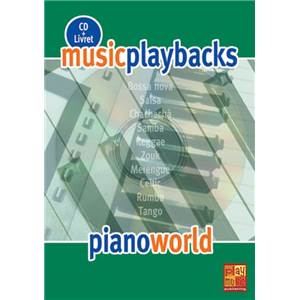 FDBAND - MUSIC PLAYBACKS PIANO WORLD + CD