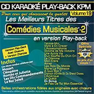 COMPILATION - CD KARAOKE VOL.19 COMEDIES MUSICALES 2 AVEC CHOEUR + VERSIONS CHANTEES