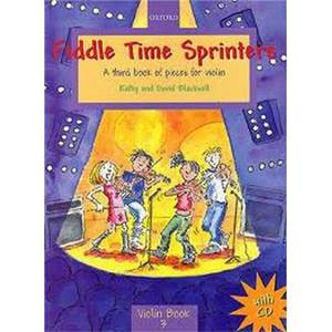 BLACKWELL KATHY ET DAVID - FIDDLE TIME SPRINTERS VIOLON + CD