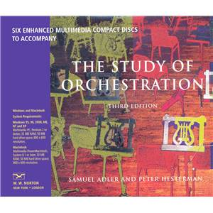 ADLER/HESTERMAN - THE STUDY OF ORCHESTRATION - CD