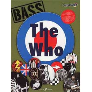 WHO THE - AUTHENTIC PLAY ALONG BASS + CD