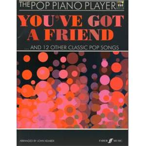 KEMBER JOHN - POP PIANO PLAYER YOU'VE GOT A FRIEND AND 13 OTHER GREAT SONGS + CD