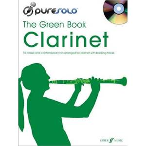 COMPILATION - PURE SOLO GREEN VOL.CLARINET + CD