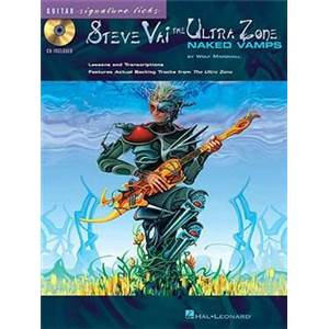 VAI STEVE - THE ULTRA ZONE GUITAR SIGNATURE LICKS + CD