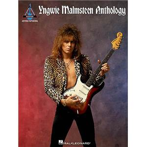 MALMSTEEN YNGWIE - ANTHOLOGY GUITAR TAB