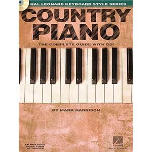 HARRISON MARK - COUNTRY PIANO COMPLETE GUIDE + CD