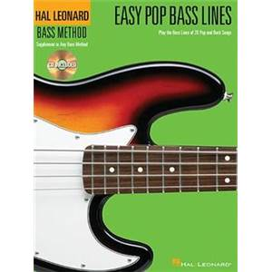 COMPILATION - EASY POP BASS LINES + CD