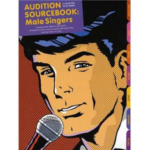 COMPILATION - AUDITION SONGS FOR MALE SINGERS : SOURCEBOOK + CD