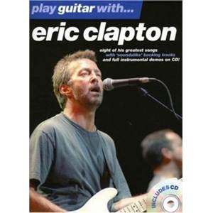 CLAPTON ERIC - PLAY GUITAR WITH... + CD